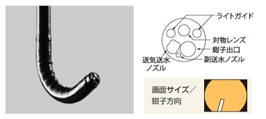 胃カメラ<br>(上部消化管用 経鼻スコープ)